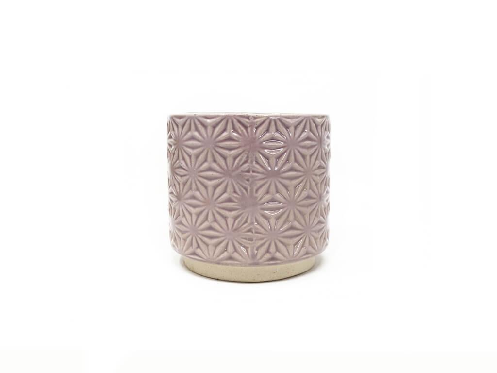 Maceta color violeta 10cm MQ311