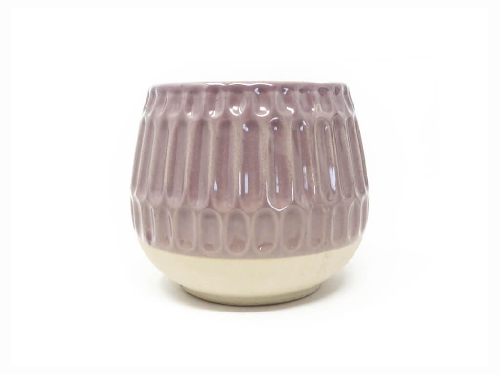 Maceta color violeta 13cm MQ641
