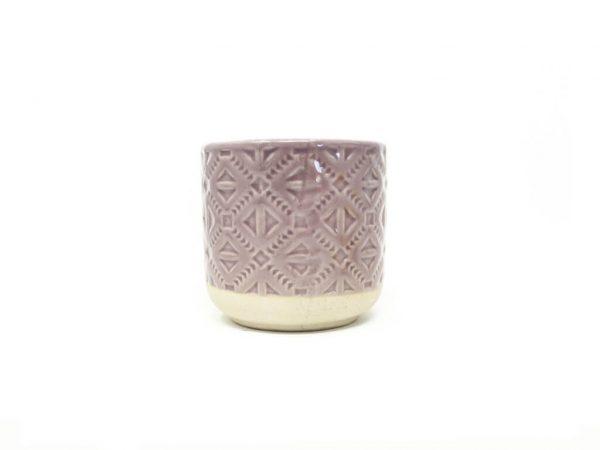 Maceta color violeta 8cm MQ181