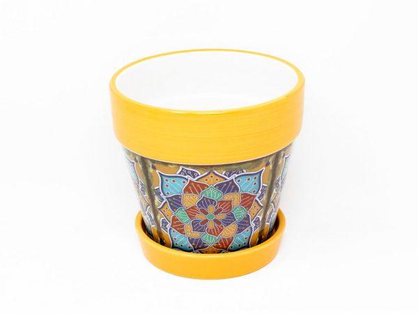 maceta-mandala-con-plato-mediano-amarillo-detalle